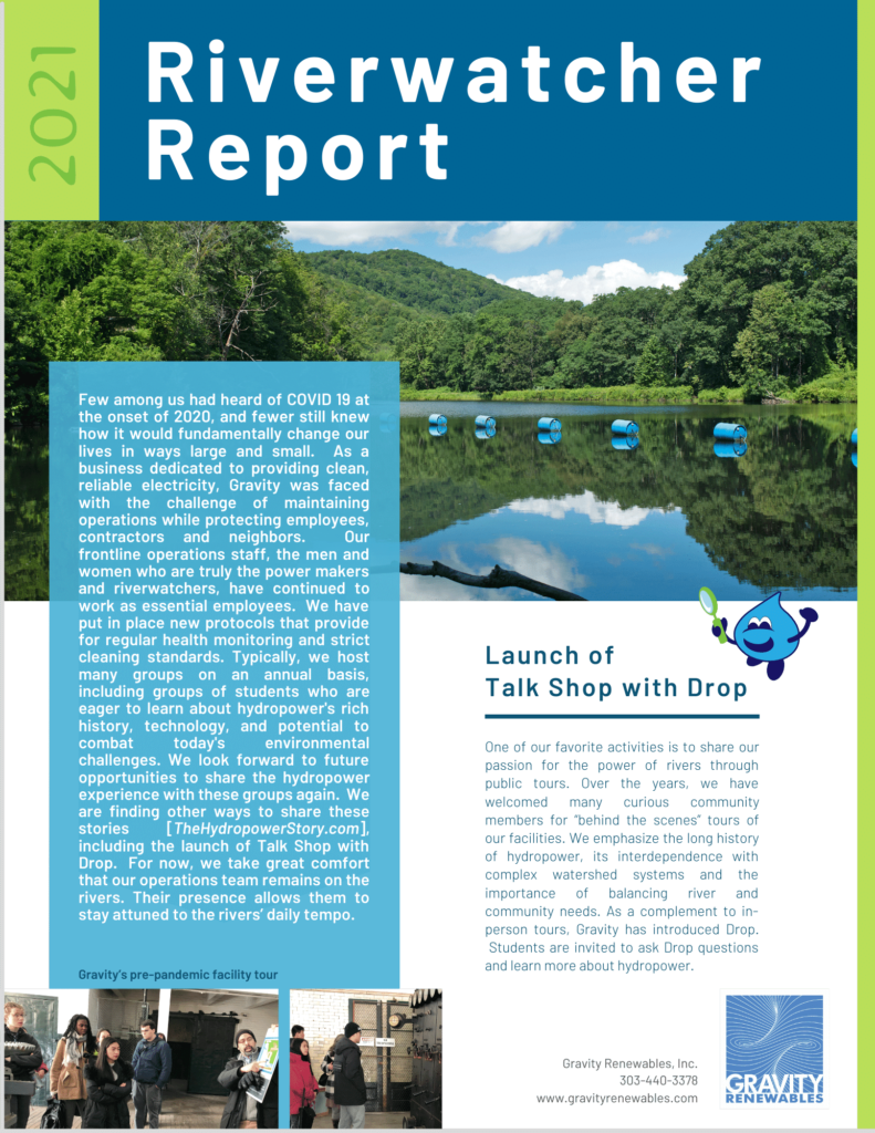 2021 Riverwatcher Report - image